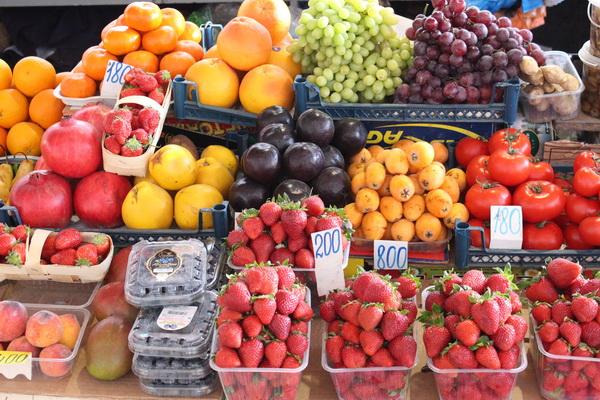 Фото с овощами в анапе номере