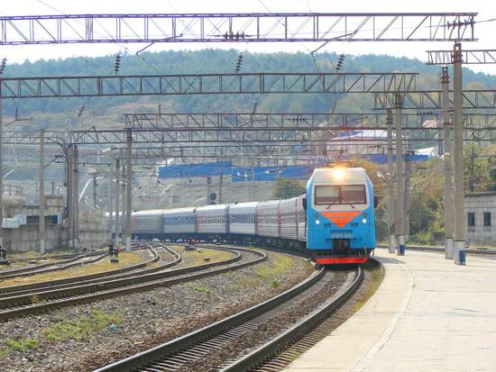 Маршрут поезда из москвы в харьков